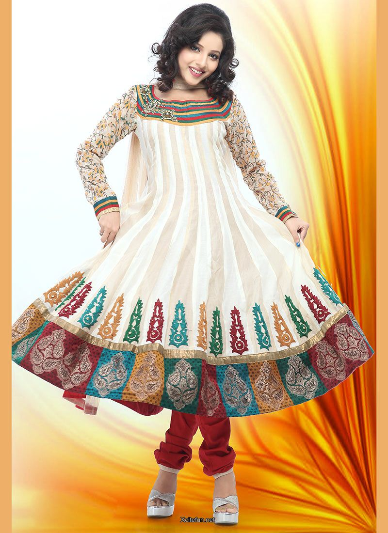 Lady Wear Formal Frock With Churidar Pajama Xcitefun Net