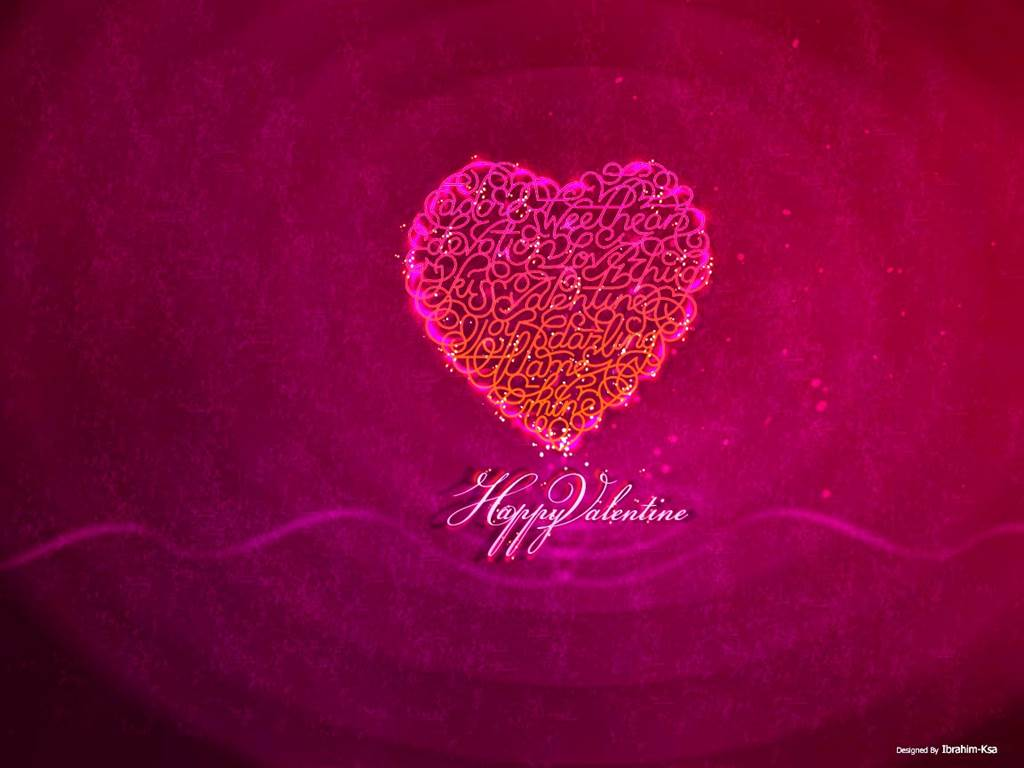 New Valentines Day Wishing Greeting Wallpapers 2014