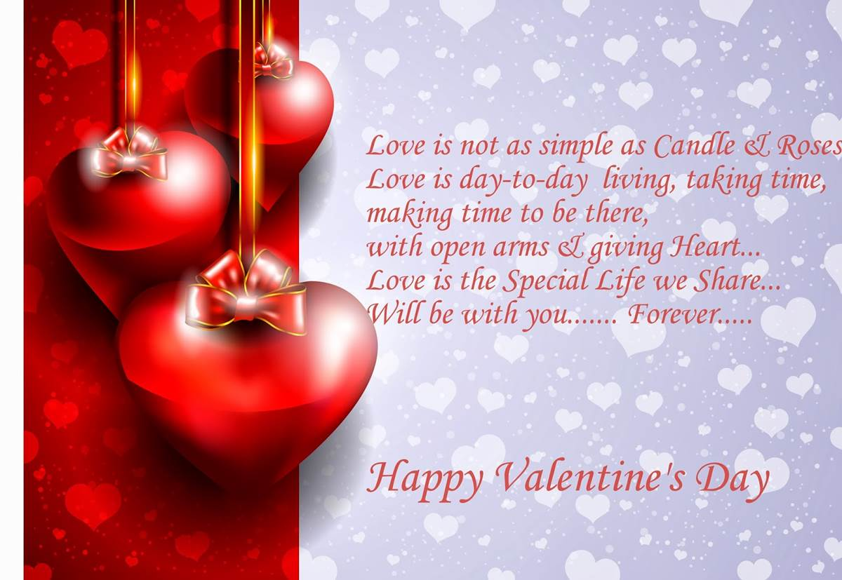 Valentine's Day Greetings 2014 - Romantic Quotes ...
