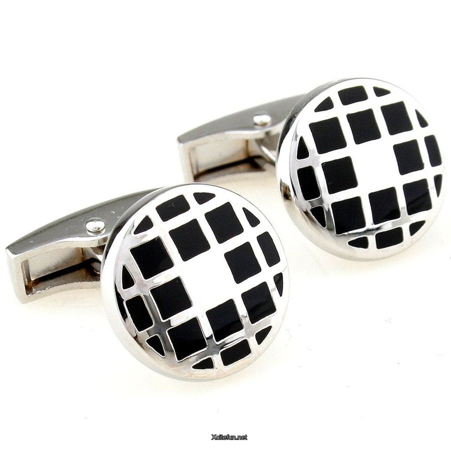 Luxury Silver Stylish Cufflinks For Men Xcitefun Net