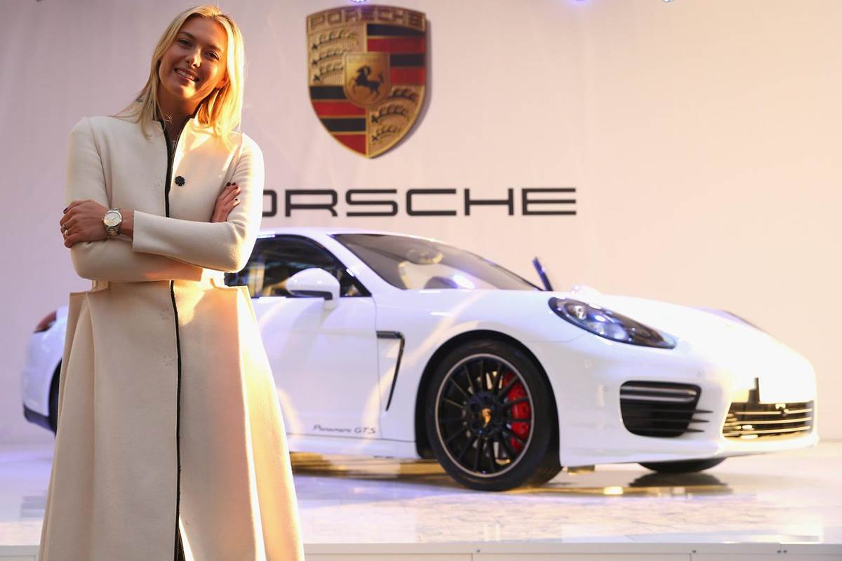 Porsche Panamera GTS Designed For Maria Sharapova