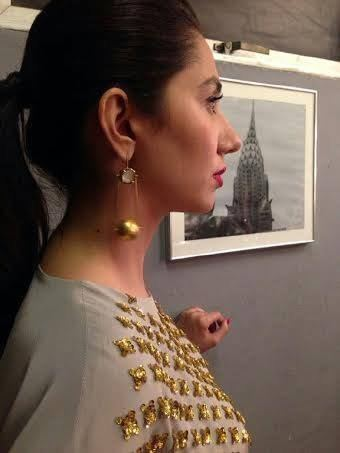 Mahira Khan In TUC Lighter Camera Shoots