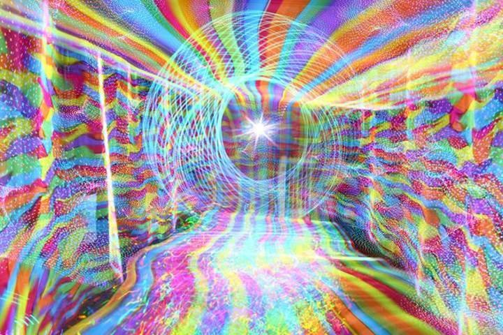 Kaleidosopic Light Paintings