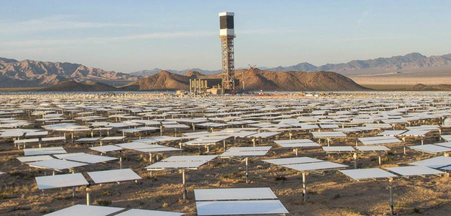 Worlds Largest Solar Power Plant California