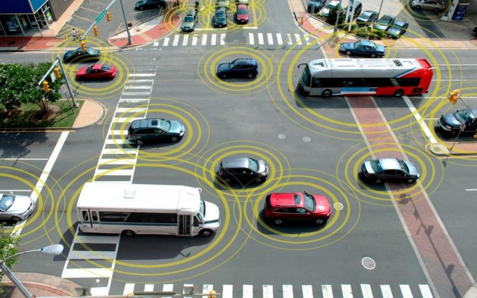 V2V Communication  Traffic Safety Technology