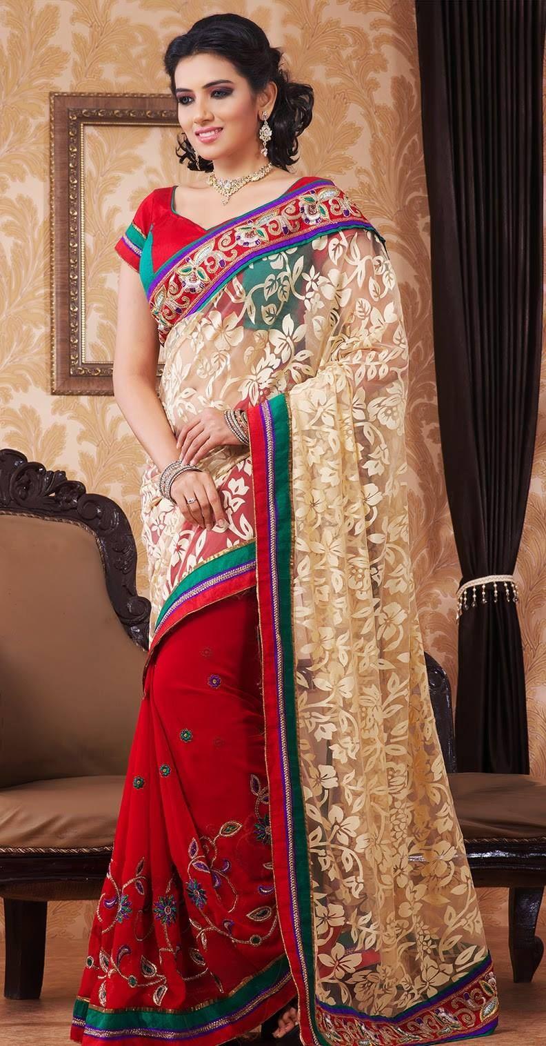 Fancy Designer Saree For Party Wear Xcitefun Net