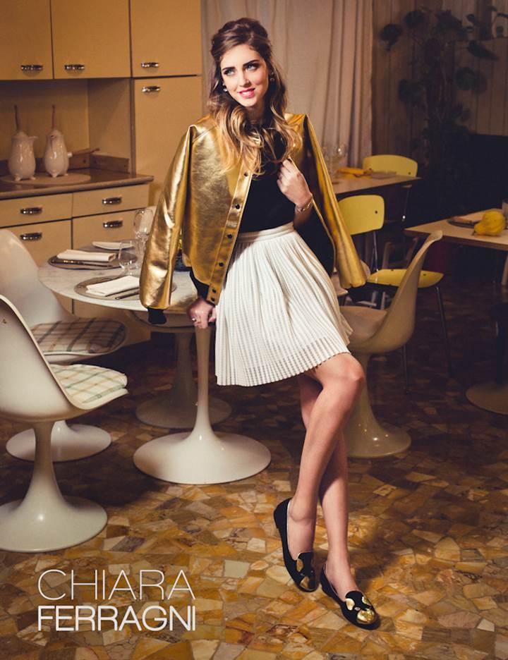 Gold Star Auto >> Chiara Ferragni Shoes Spring Summer Collection 2014 ...