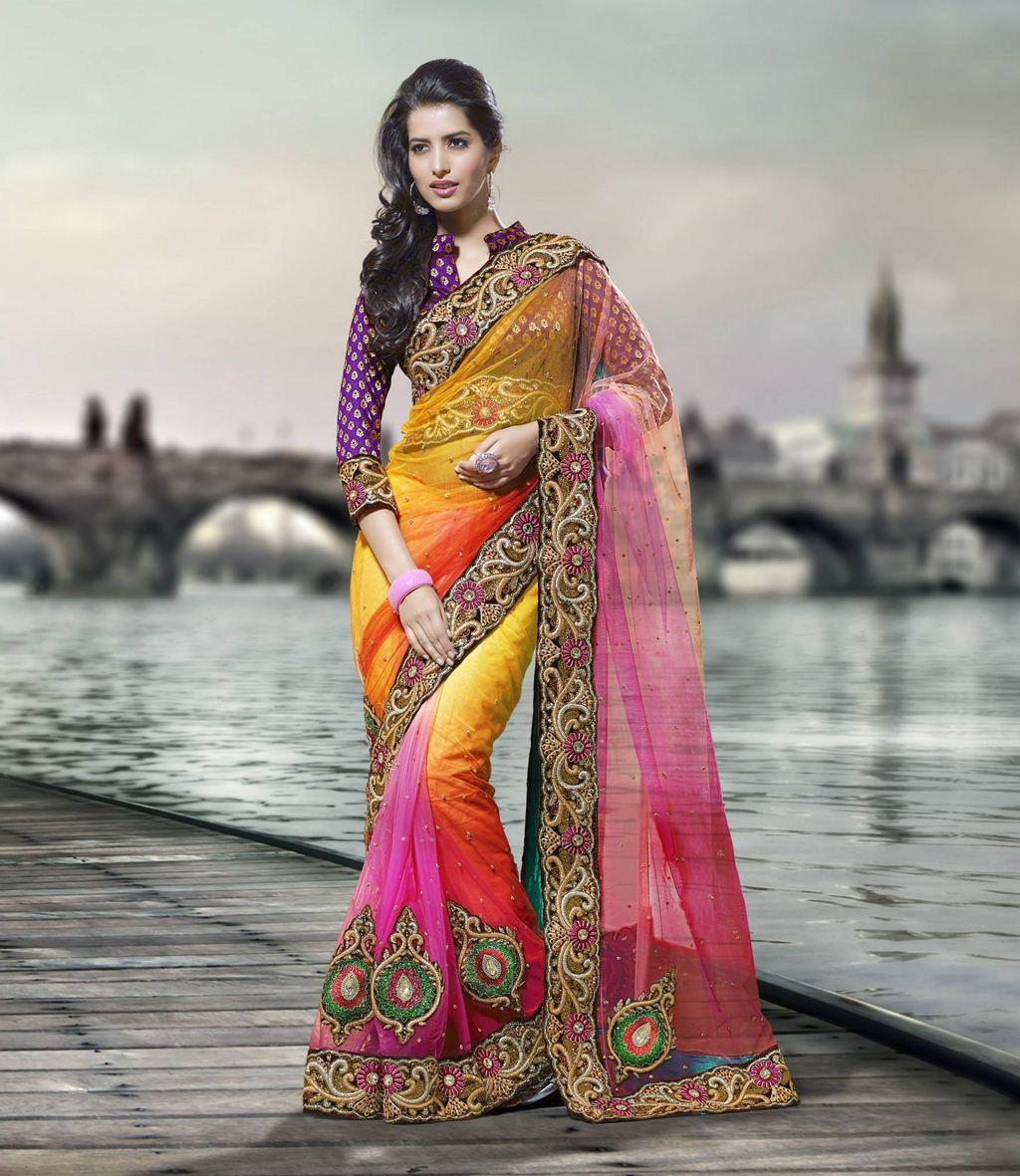 Silk Pallu Saree For Girls Xcitefun Net