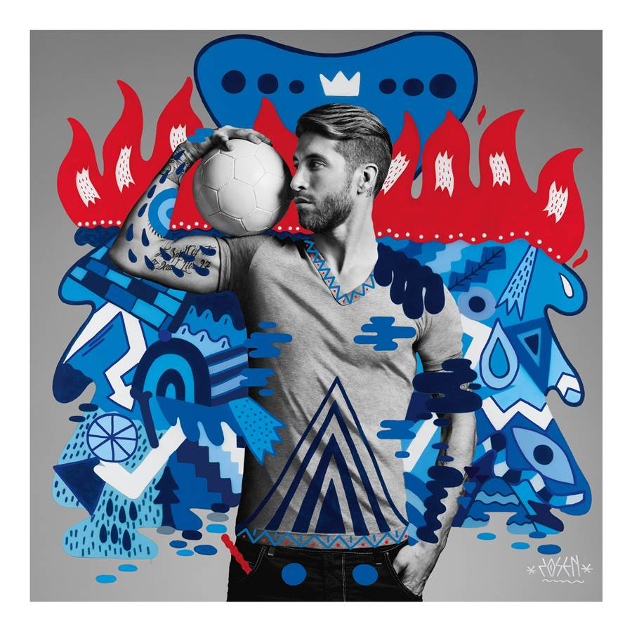 Pepsi Art of Football World Cup Campaign 2014