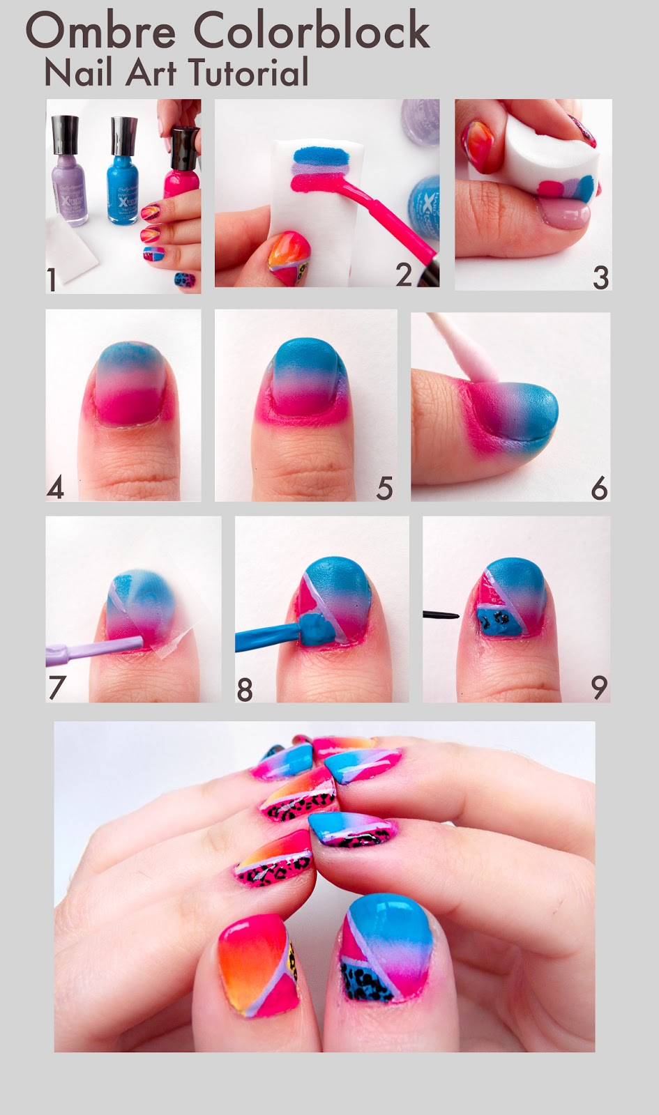 How to create nail art designs at home nail art tutorials for view images nail art tricks xcitefun prinsesfo Images