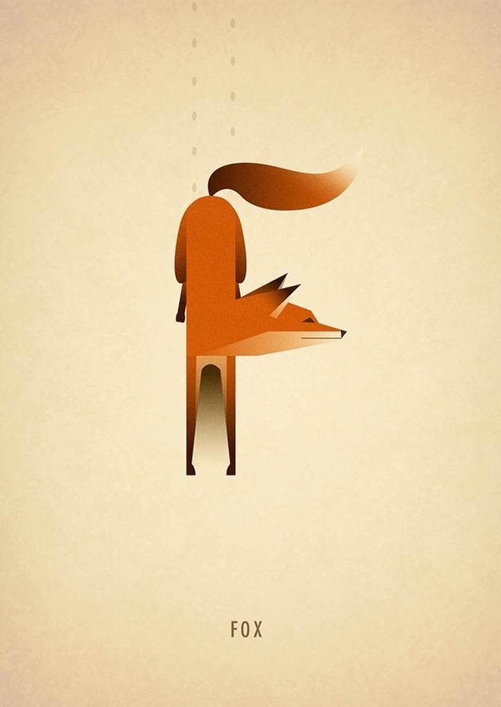 Adorable Animal Alphabets  Typography Series