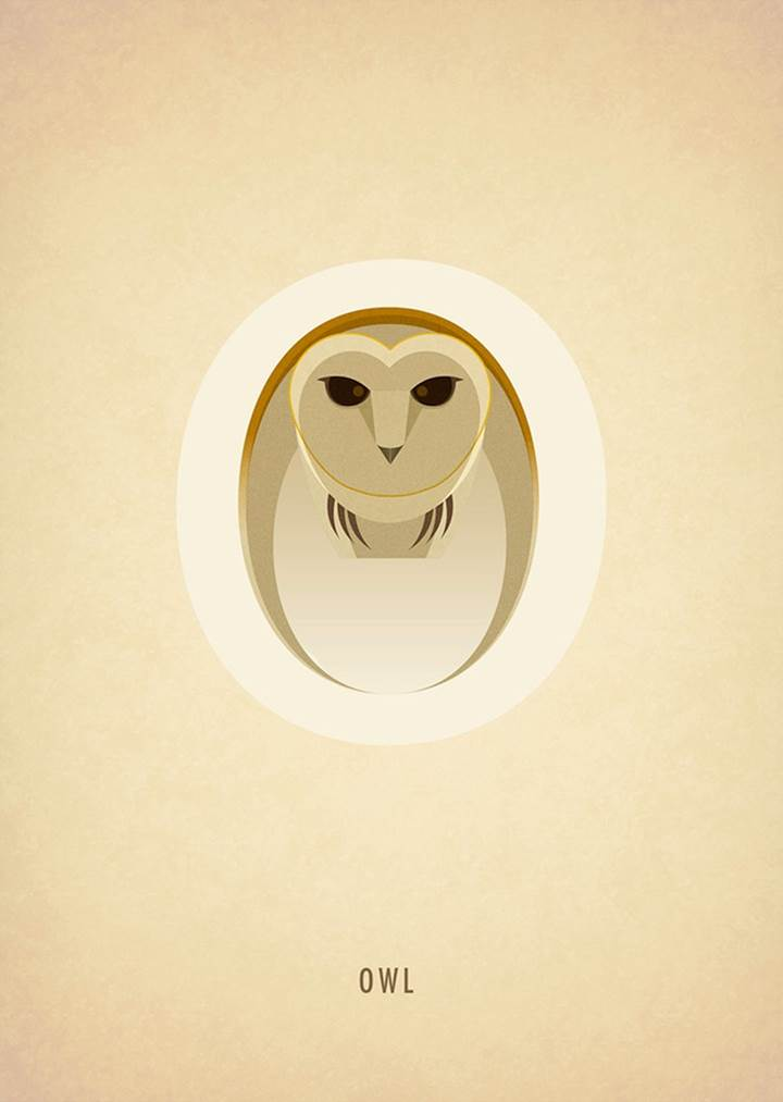 Adorable Animal Alphabets  Typography Series