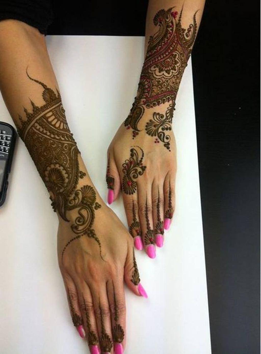 Henna Mehndi Returns : Bridal mehndi day henna designs for girls xcitefun
