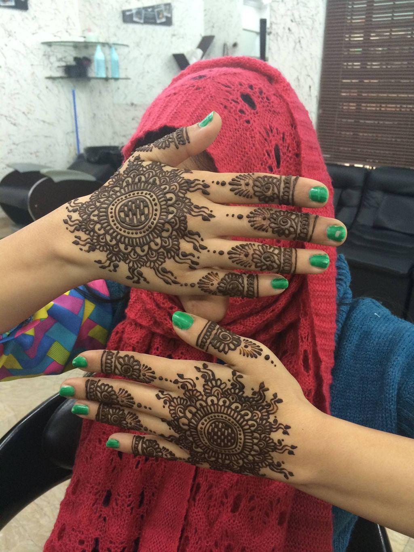 Bridal Mehndi Day Henna Designs For Girls - XciteFun.net