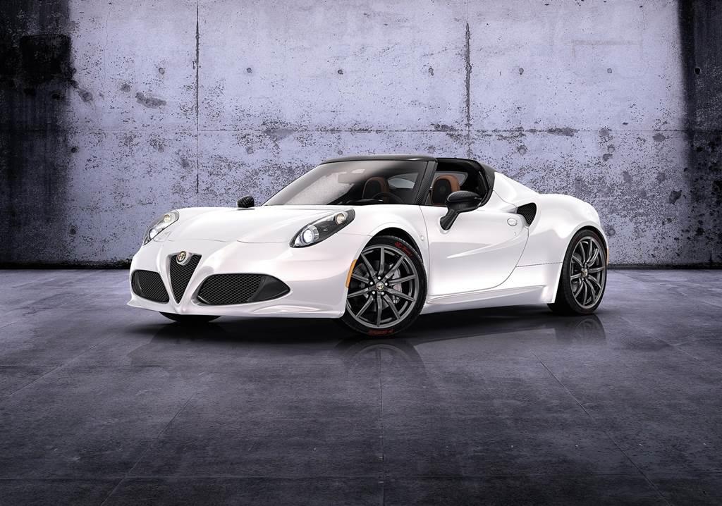 Alfa Romeo 4C Spider Concept Car Wallpapers 2014