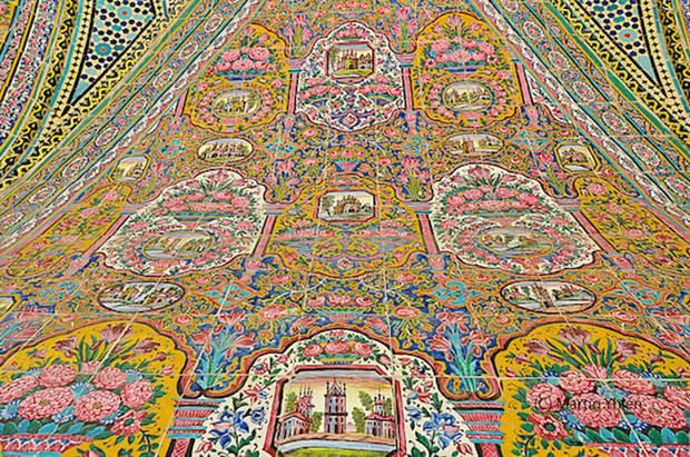 Nasir Al Mulk Masjid In Iran  Pictorial Tour