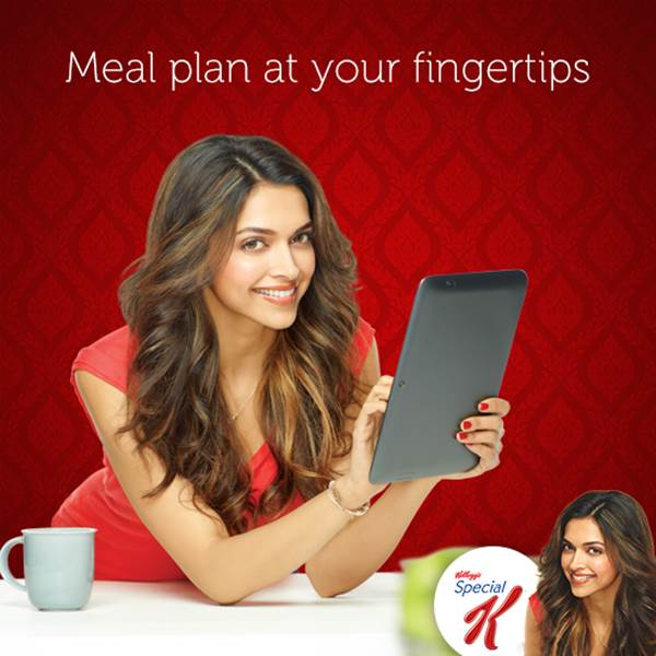 Deepika Padukone Selfies For Special K TVC