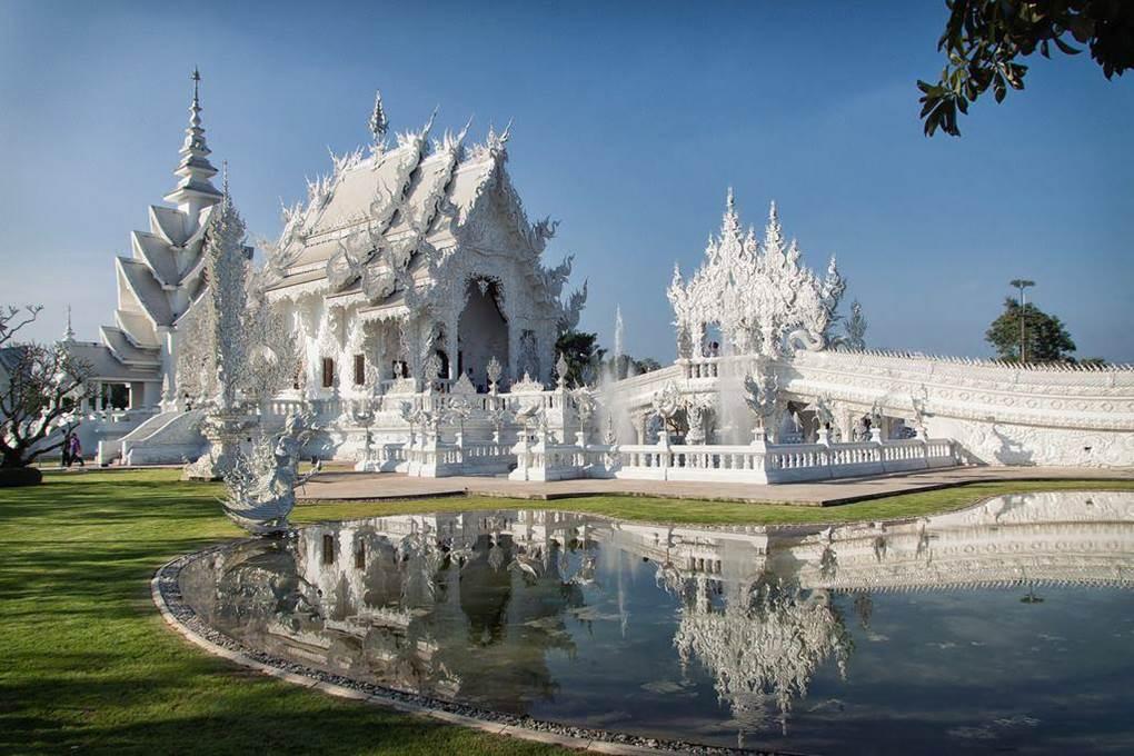 Wat Rong Khun White Buddhist Temple Xcitefun Net