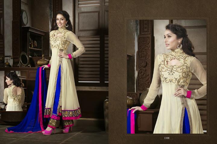 351984xcitefun shraddha kapoor designer 8 - Shraddha Kapoor Designer Collection 2014