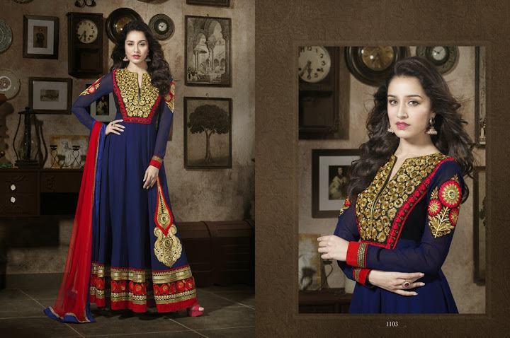 351989xcitefun shraddha kapoor designer 3 - Shraddha Kapoor Designer Collection 2014