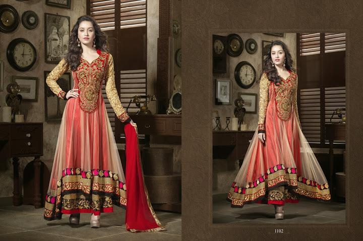 351990xcitefun shraddha kapoor designer 2 - Shraddha Kapoor Designer Collection 2014