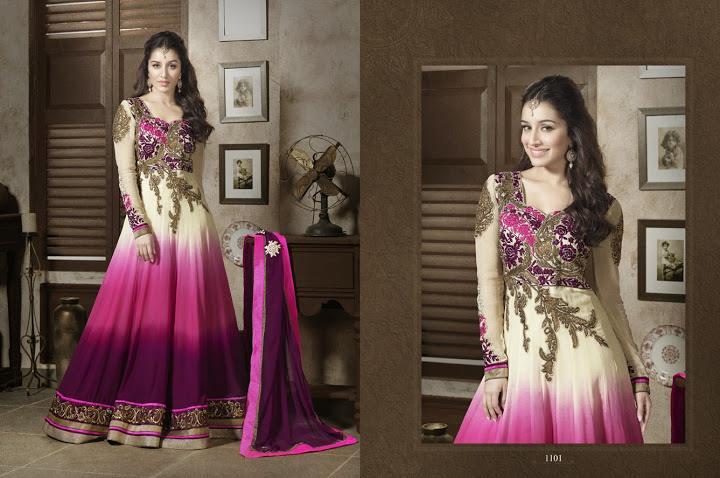 351991xcitefun shraddha kapoor designer 1 - Shraddha Kapoor Designer Collection 2014