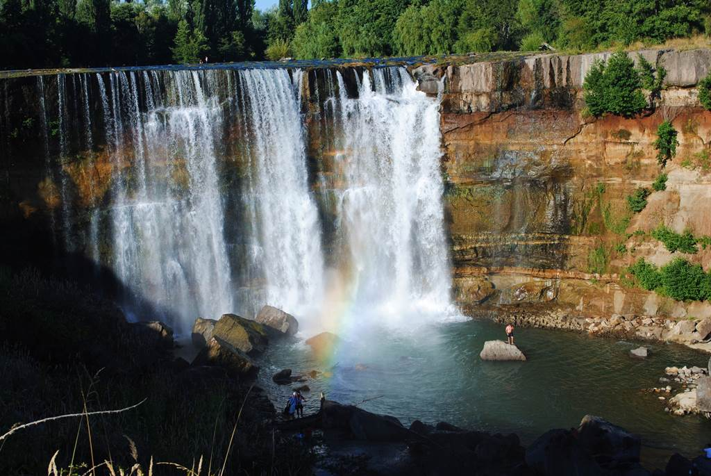 Laja Falls Chile Delicated Waterfall Images N Details Xcitefun Net