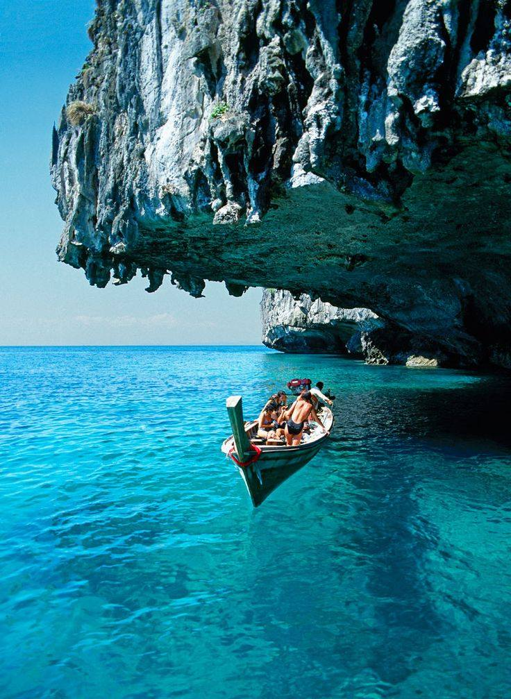 Best Island To Visit This Summer Image Amazing Koh Phi Don In Thailand Would You Like Go For A Boat Ride There