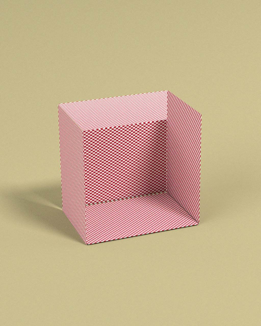 3d cubes optical illusions
