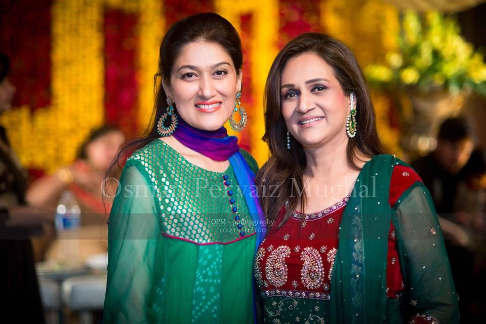 Wedding Pics Of Asma Abbas's Daughter (Bushra Ansari's