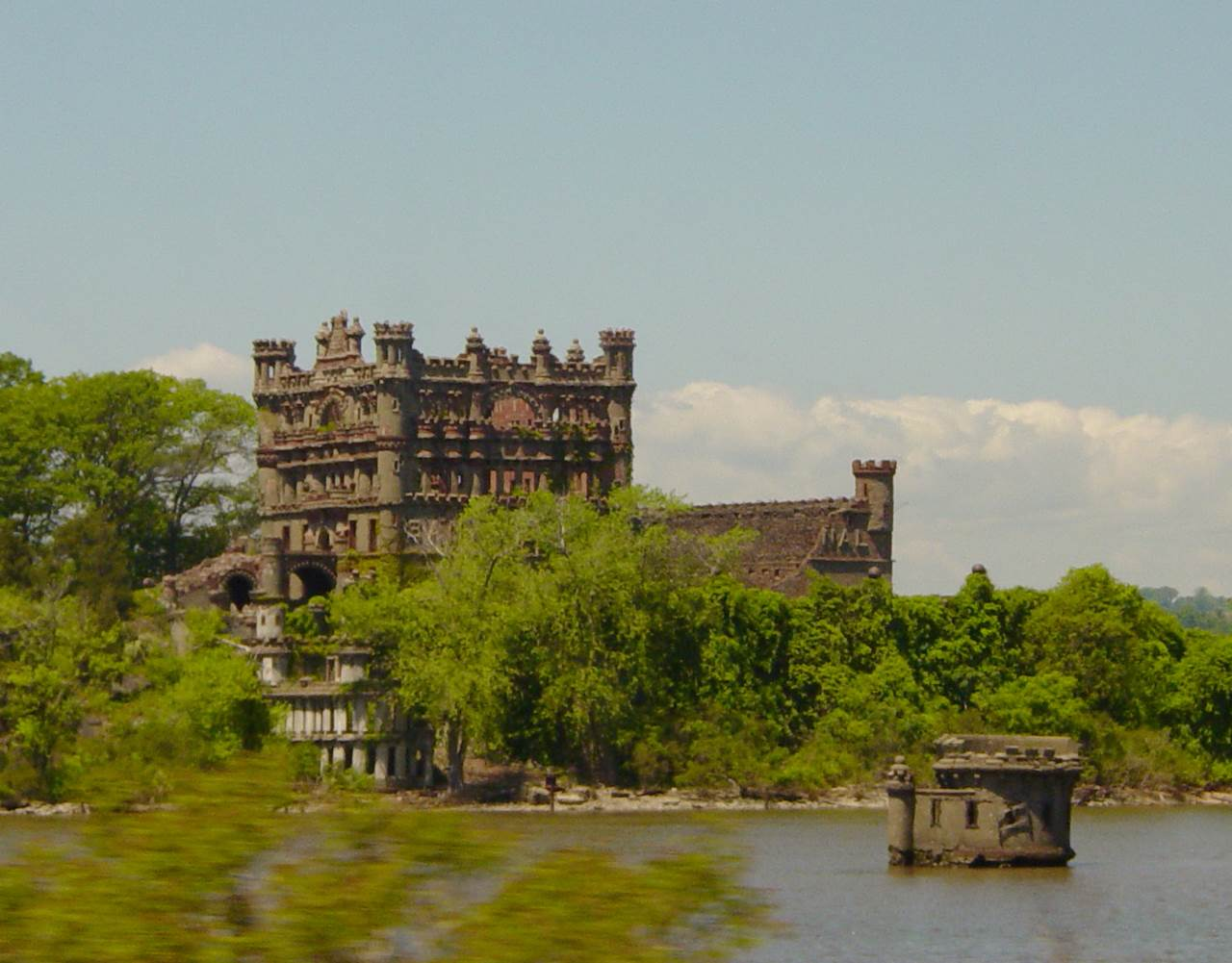 Castle On An Island In The Hudson River
