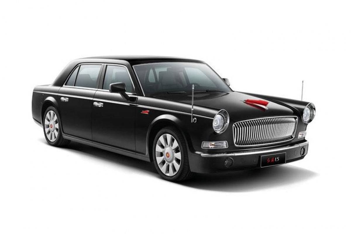 hongqi l5 most expensive chinese car. Black Bedroom Furniture Sets. Home Design Ideas