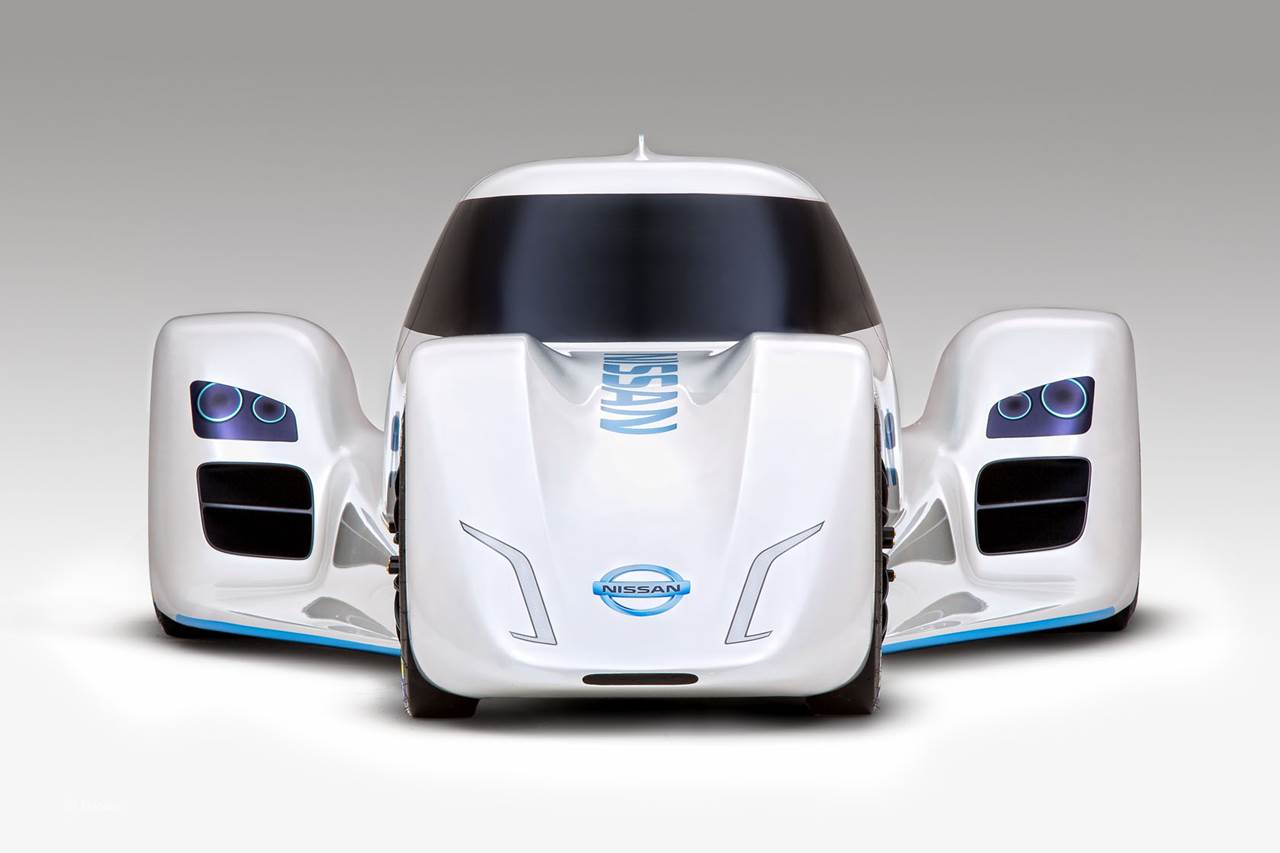 The worlds fastest electric car - Nissan Zeod Rc The World S Fastest Electric Car
