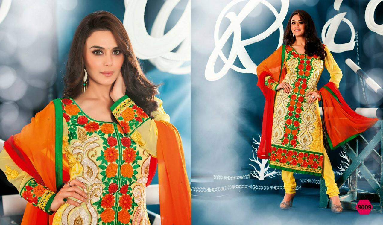 354831xcitefun preity zinta 2014 designer dress 10 - Preity Zinta Party Wear Summer Collection 2014