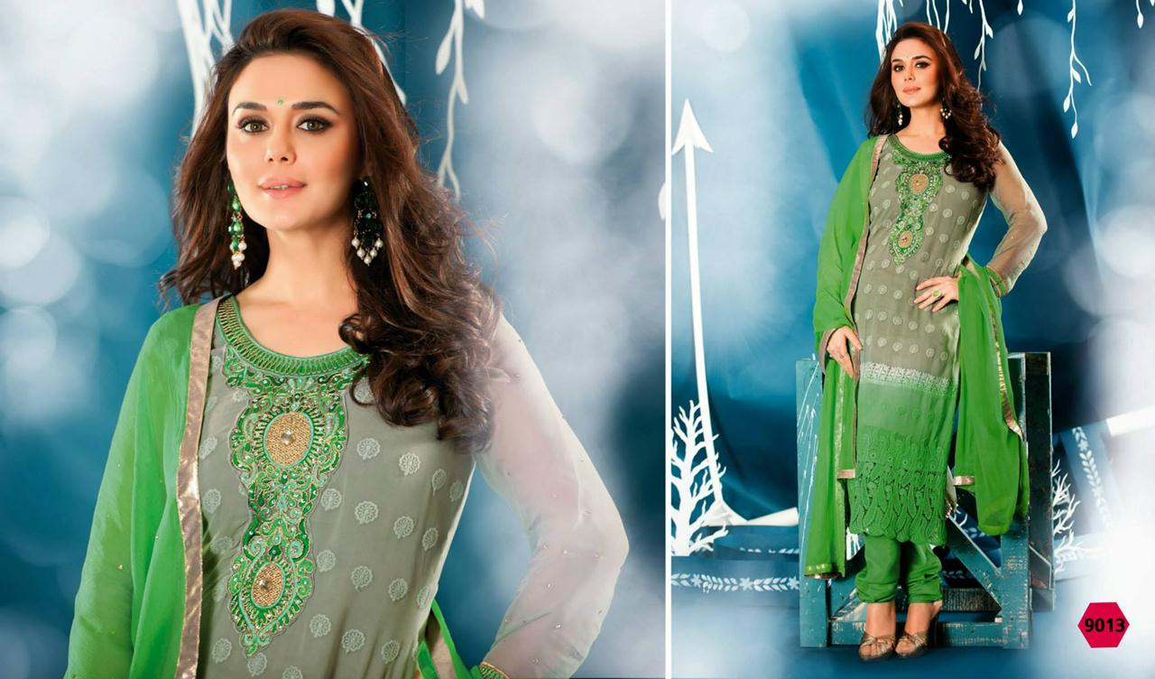 354843xcitefun preity zinta 2014 designer dress 14 - Preity Zinta Party Wear Summer Collection 2014