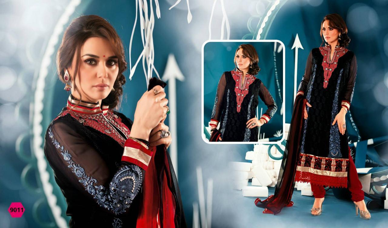 354845xcitefun preity zinta 2014 designer dress 12 - Preity Zinta Party Wear Summer Collection 2014