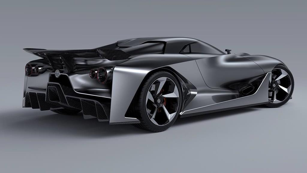 Nissan 2020 Vision Gran Turismo Concept Car Wallpapers ...