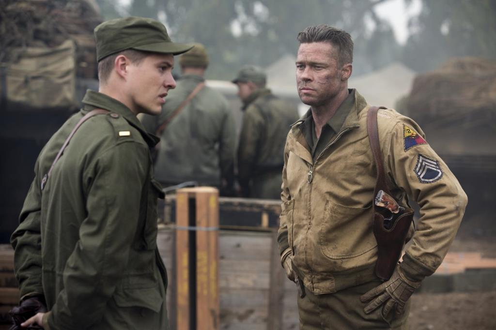 FURY 2014 - War Action Movie of Brad Pitt - XciteFun.net