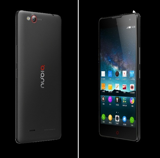 smartphone zte nubia z7 max handed over the