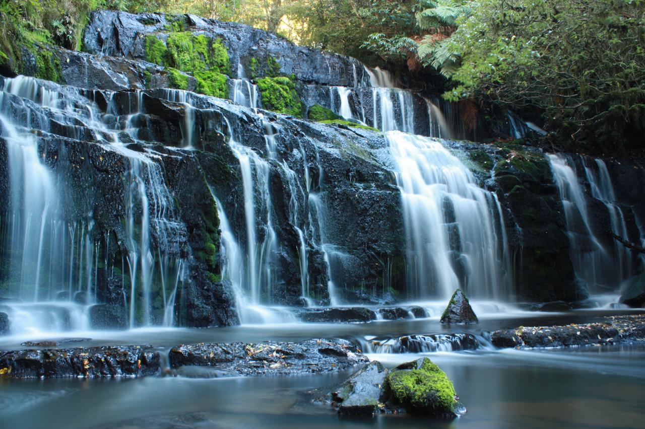 Purakaunui Falls  Cascading Waterfall of New Zealand
