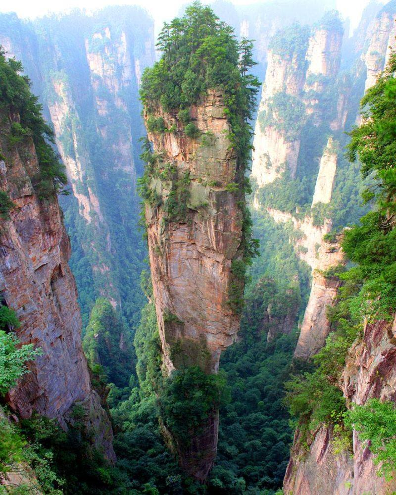 Tianzi Mountains China Images