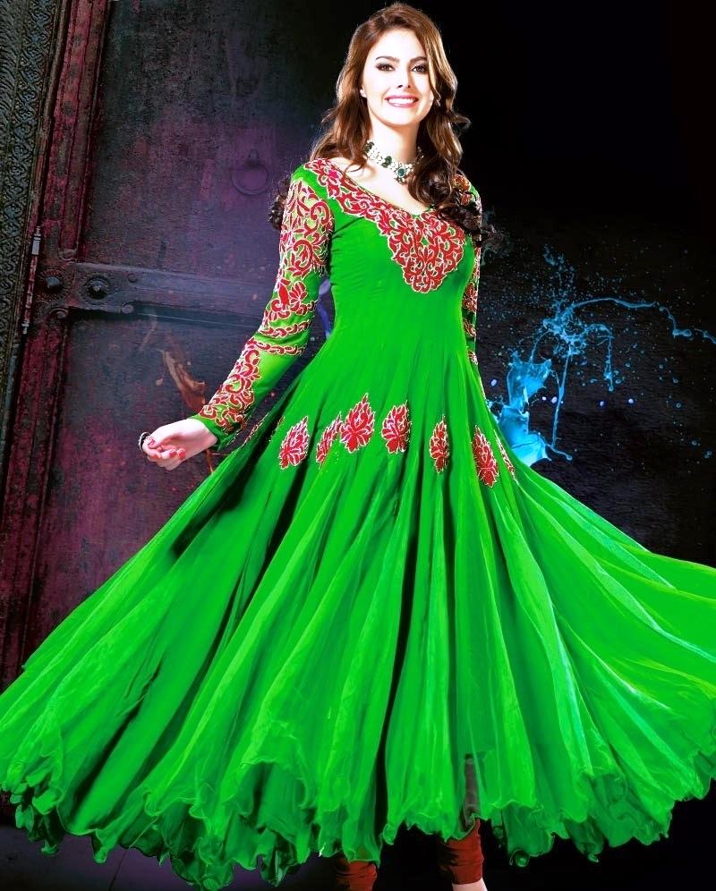 Pakistani Frock Style Girls EID Dresses