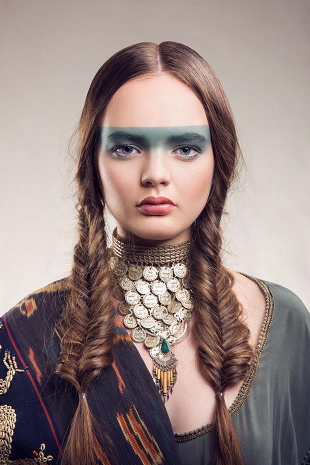 Culture Clash Fashion Portrait By Matthew Gianoulis