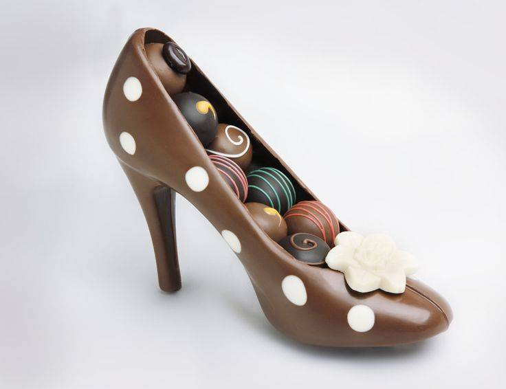 Chocolate Candy Shoes - Delicious Gift For GF