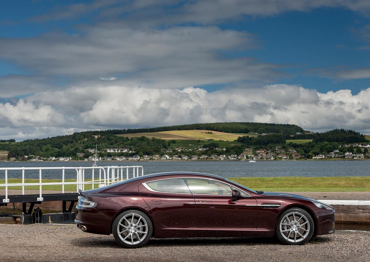 Aston introduce a new car aston martin rapide s which have made it s