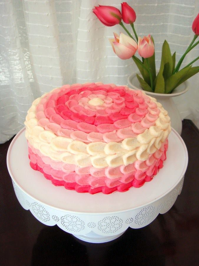 Simple Cake Design For Anniversary