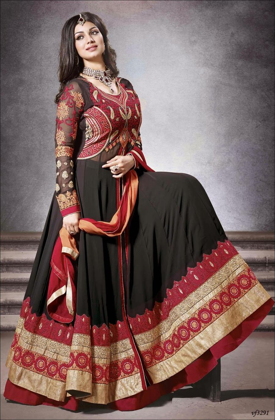 heavy bridal dresses for indian girls  xcitefun