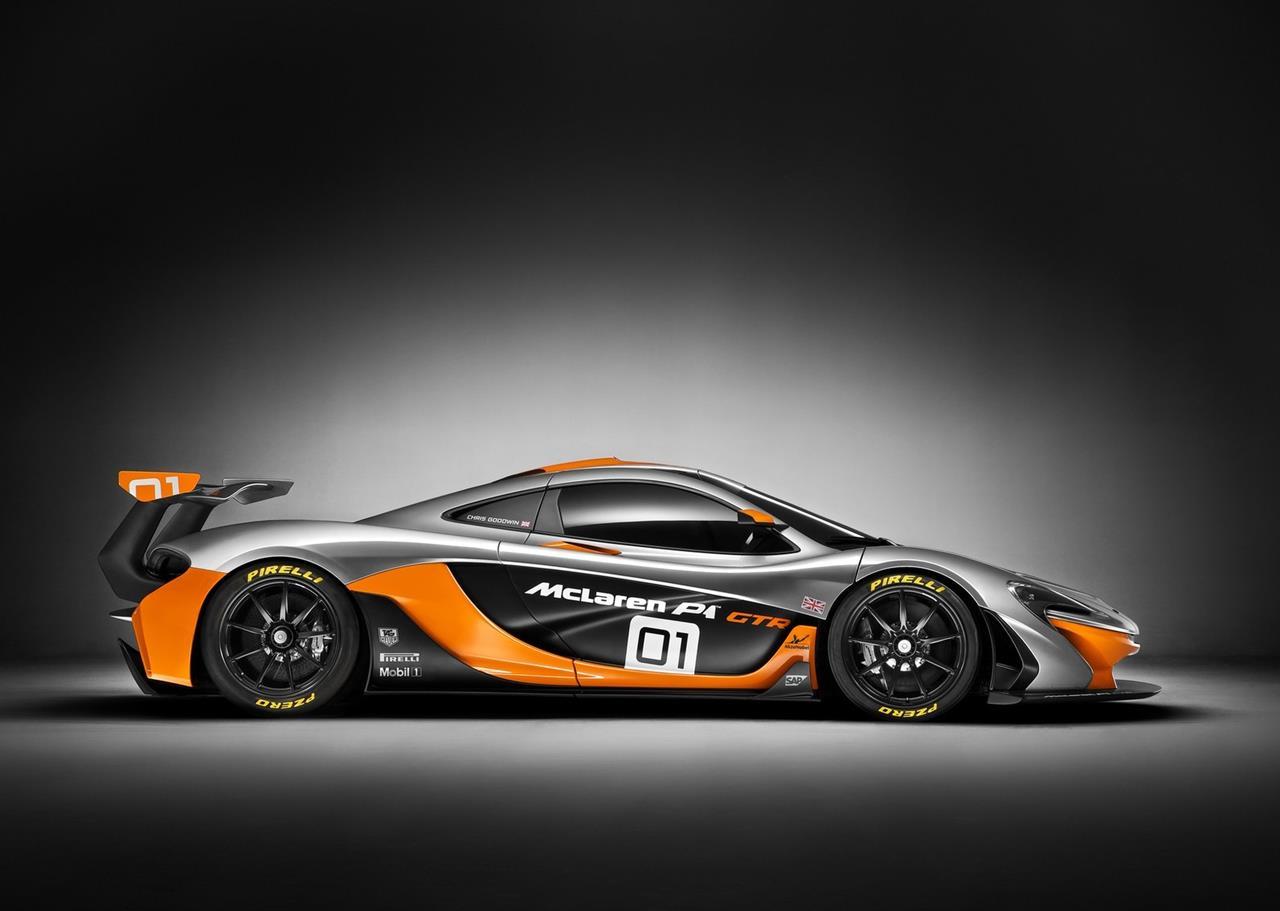 McLaren P1 GTR Concept 2014 Car Wallpapers