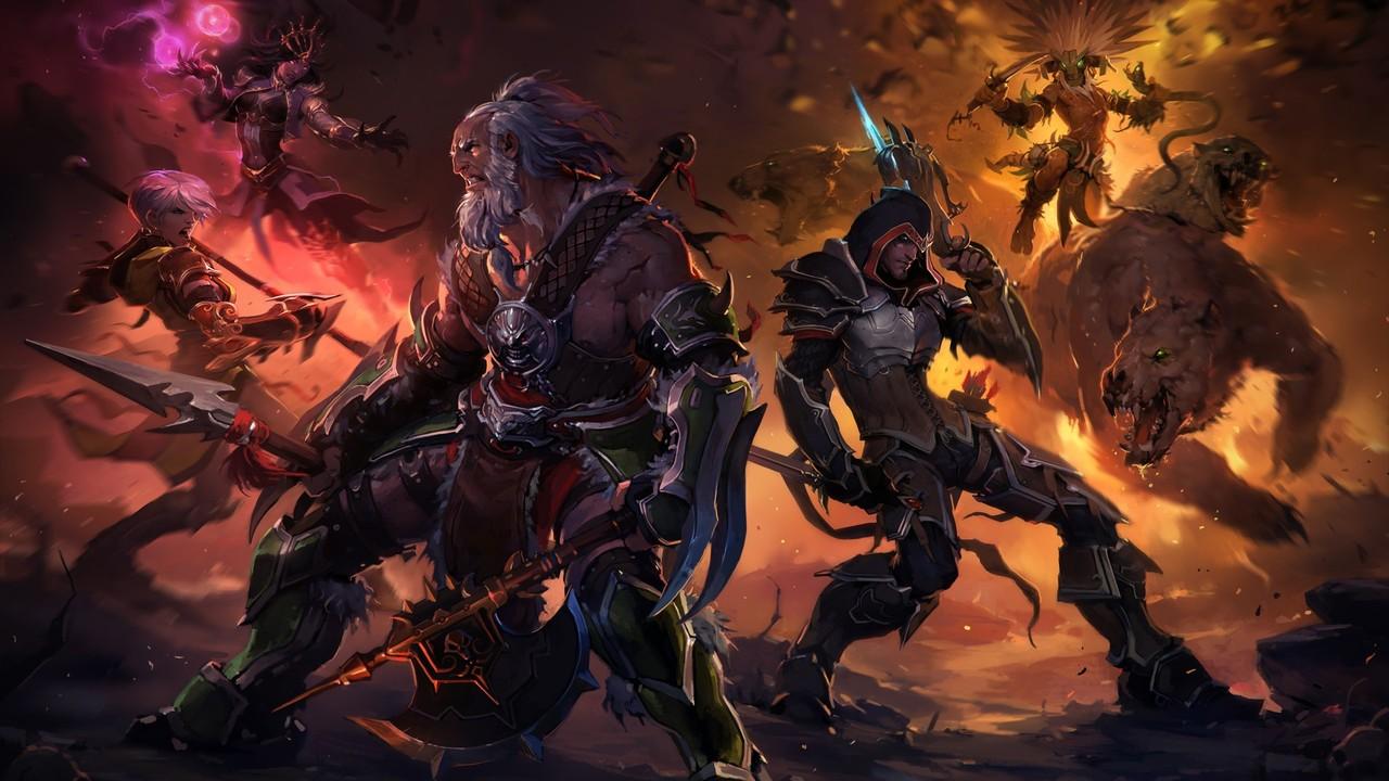 diablo iii reaper of souls gaming wallpapers