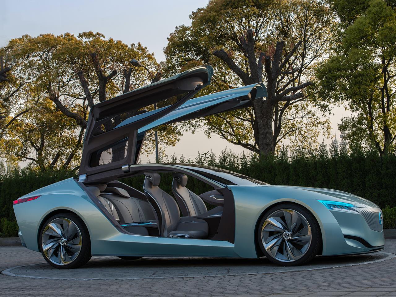 buick riviera smart concept car hits the floor